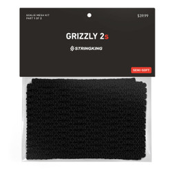 String King 12D Grizzly 2S Mesh Black
