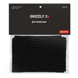 String King 12D Grizzly 2S Mesh Stringing Black