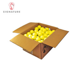 120 Lacrosse Balls - Yellow Case