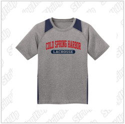 CSH Adult Sport-Tek® Heather Colorblock Contender™ Tee