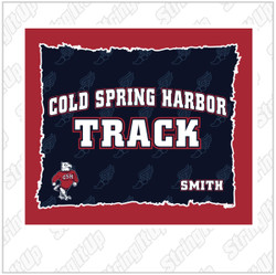 CSH Track and Field Super Plush Blanket