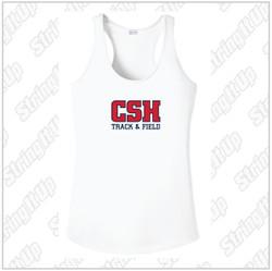 CSH Track & Field Women's Racerback Tank