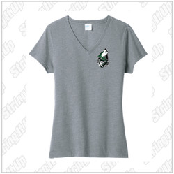 Wolf Pack Women's Port & Company ® Fan Favorite ™ Blend V-Neck Tee