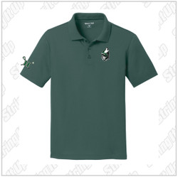 Wolf Pack Youth Port Authority® Silk Touch™ Performance Polo