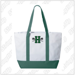Harborfields Lacrosse Liberty Bags - Bay View Zipper Tote