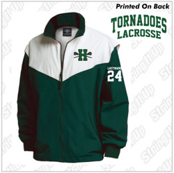 Harborfields Lacrosse Youth Charles River Championship Jacket