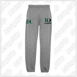 Harborfields Lacrosse Adult Heather Grey Sweatpants