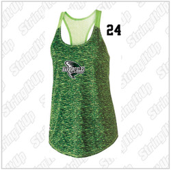 Harborfields Lacrosse Girls Space Dye Tank