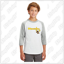 MooseLax Youth Sport-Tek® Colorblock Raglan Jersey