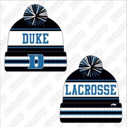 Duke Pukka Brand Custom Knit Beanie