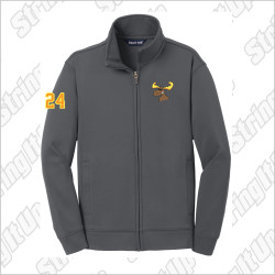 z.Players Only* MooseLax Youth Sport-Tek® Sport-Wick® Fleece Full-Zip Jacket