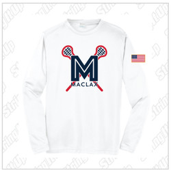 MacLax Adult Sport-Tek® PosiCharge® Competitor™ Long Sleeve Tee