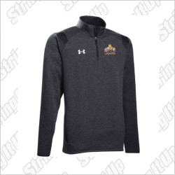 Albany Men's Under Armour Hustle 1/4 Zip - Black