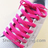 Hot Pink 54INCH Shoe Laces Hot Pink Shoe Strings 1Pairs