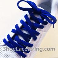 Blue 55INCH Shoe Laces Blue Shoe Strings 2Pairs