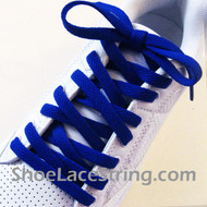 Blue 55INCH Shoe Laces Blue Shoe Strings 1Pairs