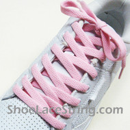 Light Pink 54INCH Shoe Laces Light Pink Shoe Strings 1 Pairs