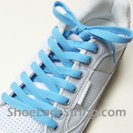 Light Blue 54INCH Shoe Laces Light Blue Shoe Strings 1 Pairs