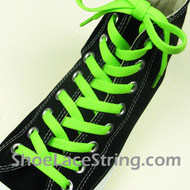 Neon Green 55INCH Shoe Laces Neon Green Shoe Strings 2Pairs