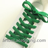 Green 54INCH Shoe Laces Green Shoe Strings 2Pairs
