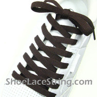 Brown 54INCH Shoe Laces Brown Shoe Strings 1 Pairs
