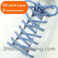 "Light Sky Blue 54"" Round ShoeLace SkyBlue Round Shoe String 1 PRs"