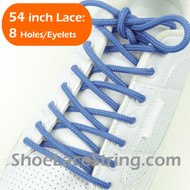 Light Blue Round 54IN ShoeLaces Light Blue Round ShoeString 2PRs