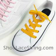 Kids Gold Yellow 27INCH ShoeLace ShoeString 1 Pairs