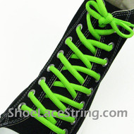 Neon Green 54IN Oval Shoe Lace Neon Green Oval Shoe String 1 PRs