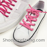 Pink Kid's or 27inch Oval ShoeLace Pink Oval ShoeString 2Pairs