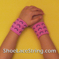 Fuchsia Color Kid's Cute Wrist Bands for Party,  2PAIRS