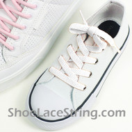 Kids/27INCH White ShoeLaces Childs White ShoeStrings 1Pairs