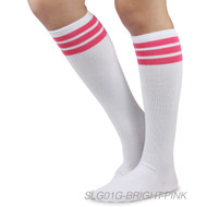 Spotlight Hosiery Brand Elite Quality Women's Retro Classic Old School Knee Socks (Non-Athletic)