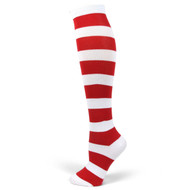 Spotlight Hosiery Brand Elite Quality Women's Striped Knee Socks (Non-Athletic)