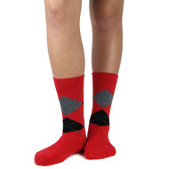 Spotlight Hosiery Elite Quality Ring Bearer/Junior Groomsmen/Performance/ Concert Argyle Dress Socks