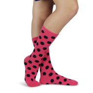 Spotlight Hosiery Elite Quality Ring Bearer/Junior Groomsmen/Performance/ Concert Polka Dots Socks