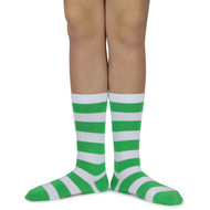 Spotlight Hosiery Elite Quality Ring Bearer/Junior Groomsmen/Performance/ Concert Striped Socks