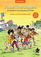 Fiddle Time Joggers + CD, revised edition, by David Blackwell Kathy Blackwell for Violin, Publisher  Oxford University Press