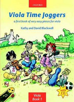 Viola Time Joggers + CD, by David Blackwell, Kathy Blackwell for Viola, Publisher  Oxford University Press