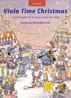 Viola Time Christmas + CD, by David Blackwell, Kathy Blackwell for Viola, Publisher  Oxford University Press