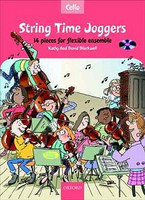 String Time Joggers Cello book + CD by David Blackwell & Kathy Blackwell for Cello, Series of String Time Joggers, Publisher Oxford University Press
