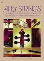 All For Strings Book 1 Double Bass, by  Gerald Anderson Robert Frost for Double Bass, Publisher  Neil A. Kjos Music Company