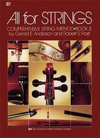 All For Strings Book 3 Double Bass, by  Gerald Anderson, Robert Frost for Double Bass, Publisher  Neil A. Kjos Music Company