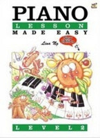 Piano Lesson Made Easy Level 2, by Lina Ng, Publisher  Rhythm MP