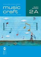 Music Craft - Student Workbook Preliminary A, series of AMEB Music Craft,  Publisher  AMEB