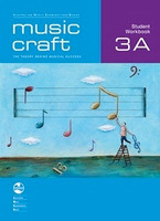 Music Craft - Student Workbook 3B, series of AMEB Music Craft, Publisher  AMEB