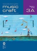 Music Craft - Teacher's Guide 3A, series of AMEB Music Craft, Publisher  AMEB