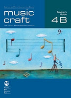 Music Craft - Teacher's Guide 4B, series of AMEB Music Craft, Publisher  AMEB