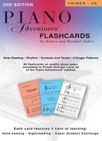 Piano Adventures Flashcards In-a-Box, by  Nancy Faber, Randall Faber for Piano, Publisher  Faber Piano Adventures