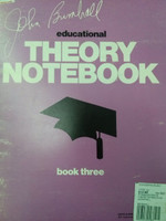 Educational Theory Notebook,Book three by John Brimhall 70% off